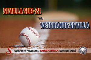 Partido Amistoso: Sevilla SUB-21 vs Sevilla Veteranos