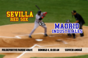 Partido Amistoso: Sevilla Red Sox vs Madrid Industriales