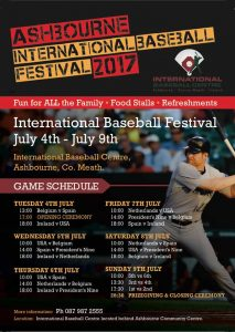 Ashbourne International Baseball Festival