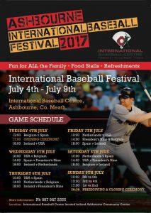 Ashbourne International Baseball Festival