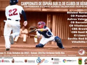 Campeonato de España Sub21 de Clubes de Béisbol