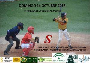 Partido en directo Sevilla Red Sox vs Atleticos de Chiclana